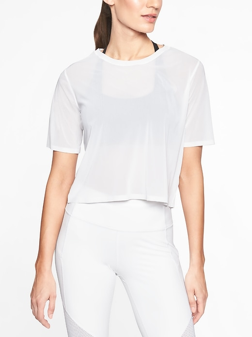 Micro Mesh Tee by Athleta
