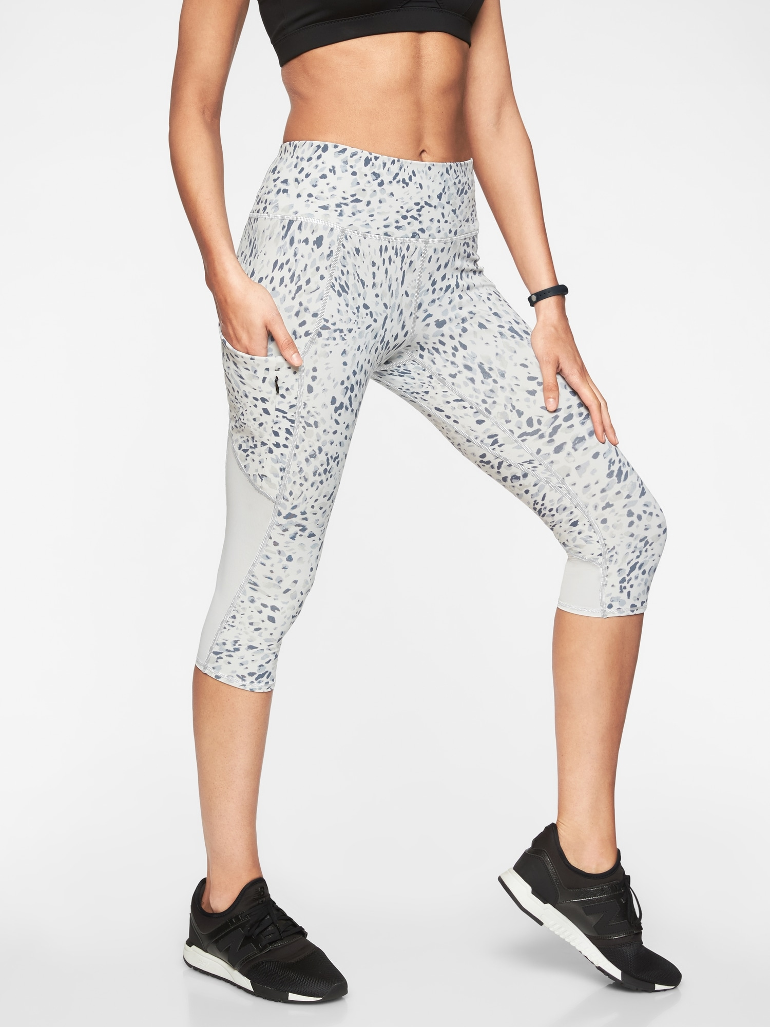 Spotty Up For Anything Crop by Athleta