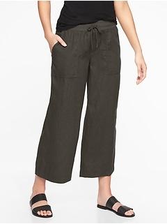 Bali Linen Crop Pant