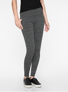 Herringbone Metro High Waisted Legging