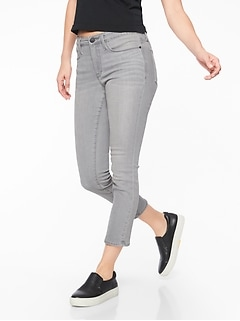 Sculptek Skinny Crop Jean Granite Wash