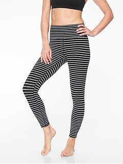 Elation Virasana Stripe 7/8 Tight
