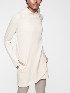 Cozy Karma Asym Sweatshirt Dress