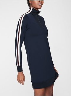 Circa Track Sweatshirt Dress