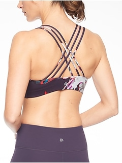 Hyper Focused Print Bra In Powervita