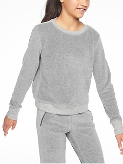Athleta Girl Pretty Pleats Sweatshirt
