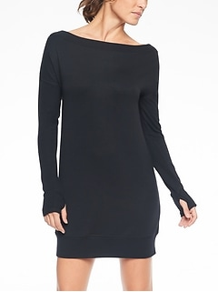 Studio Barre Sweatshirt Dress