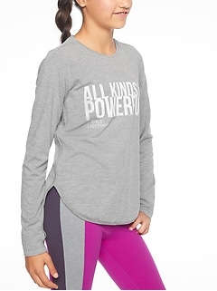 Athleta Girl Over The Moon Top