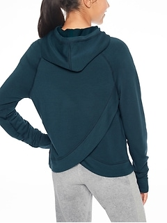 Athleta Girl Criss Cross Hoodie
