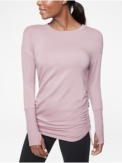 Drishti Ruched Sweatshirt