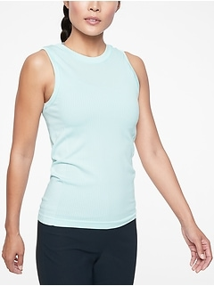Renew Hip Length Ribbed Tank