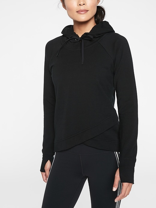 Pinnacle Criss Cross Hoodie