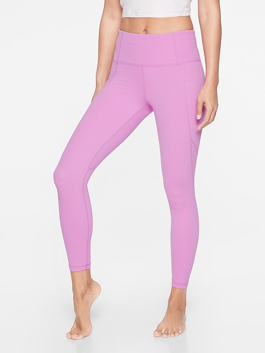 Salutation Stash Pocket  7/8 Tight In Powervita by Athleta