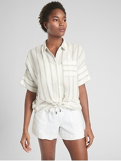 Anguilla Button Up