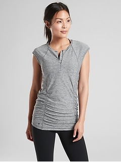 Pacifica Contoured Heather Tank