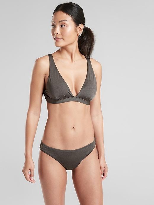 Aqualuxe Plunge Pullover Bikini Top