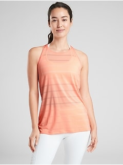 3ee18511765a4 High Neck Chi Double Stripe Tank
