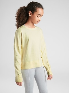 Athleta Girl Beachy Sweatshirt