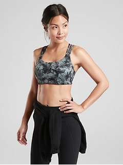 Hyper Focused Print Bra In Powervita™