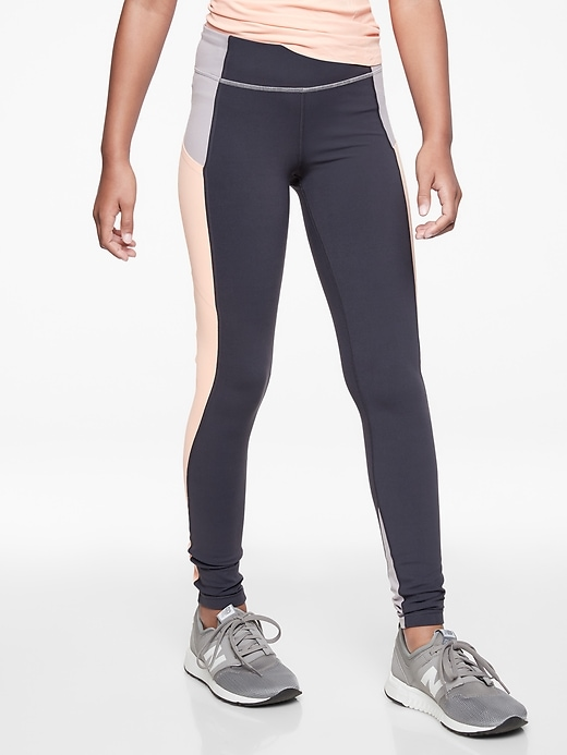Athleta Girl Colorblock Stash Pocket Tight