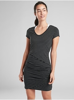 Central Stripe Dress