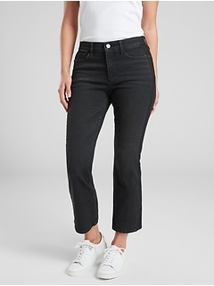 Sculptek Crop Kick Tuxedo Jean Carbon Wash