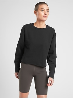 Raw Edge Sweatshirt