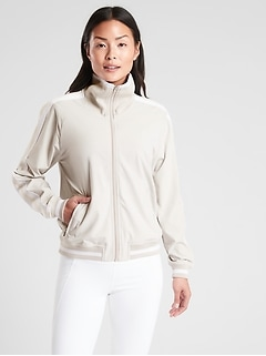 Sprint Track Jacket in Featherweight Stretch™