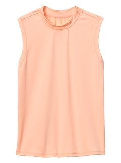 Athleta Girl Overlap Sleeveless Rashguard