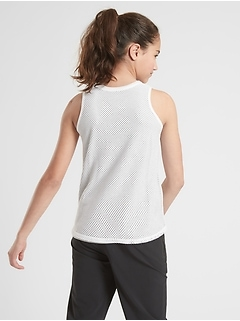 Athleta Girl Reversible Mesh N Move Tank