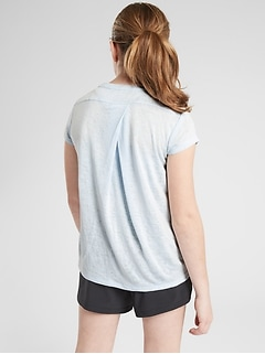 Athleta Girl Keep At It Tee
