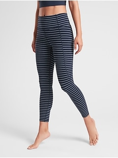 Stripe Salutation 7/8 Tight In Powervita