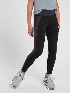 Athleta Girl Spliced Spacedye Tight