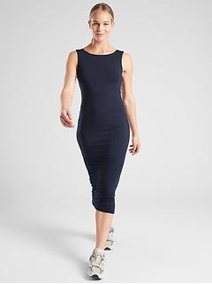 Santorini Midi Solid Dress
