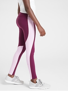 Athleta Girl Stop The Clock Colorblock Tight