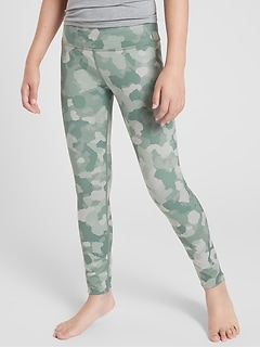 Athleta Girl Printed Chit Chat Tight