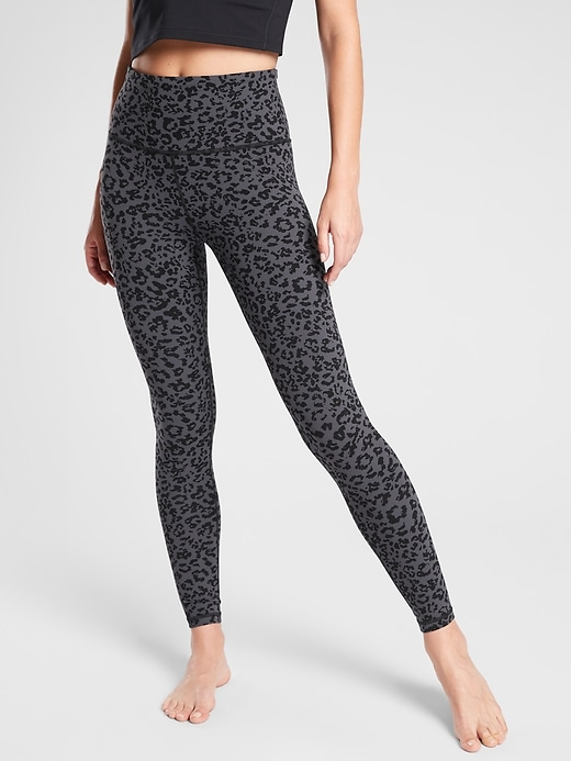 Leopard Elation Ultra High Rise Tight in Powervita
