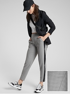 Brooklyn Plaid Ankle Pant