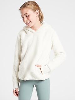 Athleta Girl So Snug Sherpa Hoodie