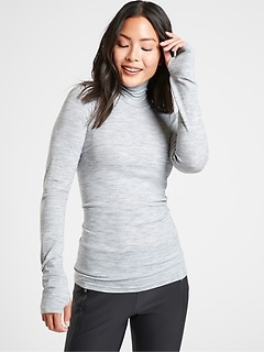 Foresthill Ascent Heather Turtleneck