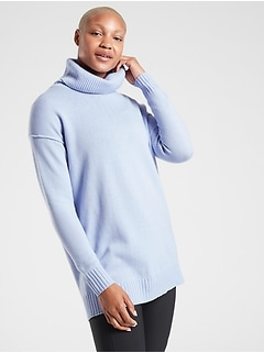 Bayshore Wool Cashmere Turtleneck Tunic
