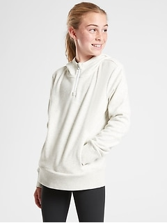 Athleta Girl Crazy Cozy Half Zip