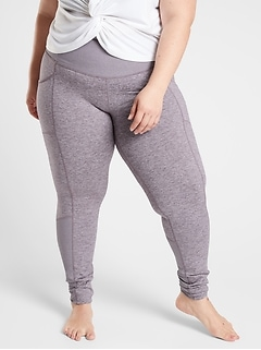 Exhale Stash Pocket Heel Tight in SoftLuxe
