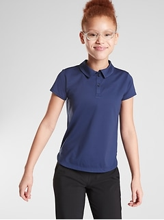 Athleta Girl School Day Polo