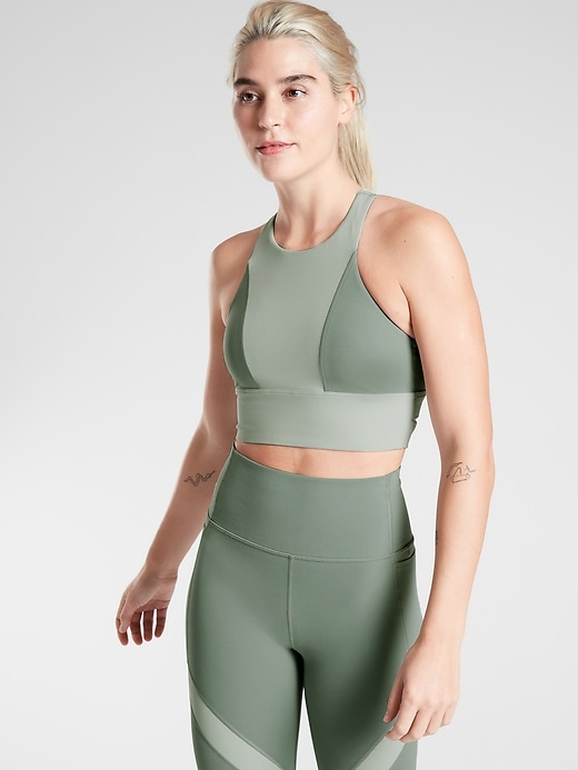 Radiant Colorblock Bra in Powervita&#153 A&#45C