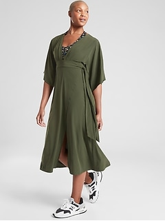 Calistoga Wrap Dress