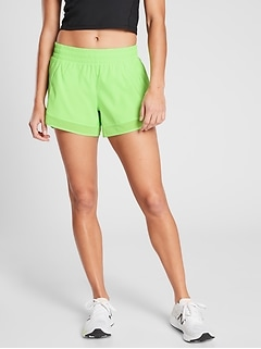 Mesh Racer Run Short 4""