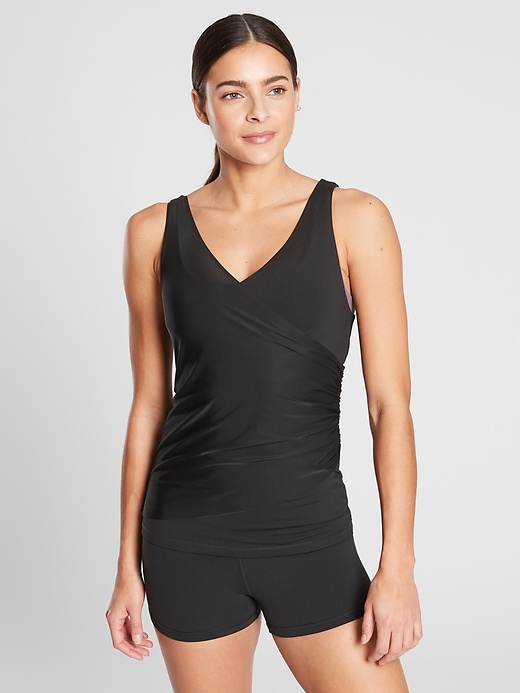 Lotus Ruched Tank