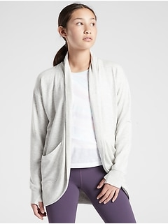 Athleta Girl Wrap 'N Roll Sweatshirt 2.0