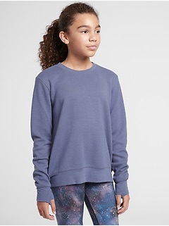 Athleta Girl Crunch Time Crewneck Sweatshirt